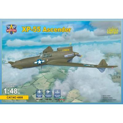 CURTISS-WRIGHT XP-55 ASCENDER 1/48 - ModelsVit 4808