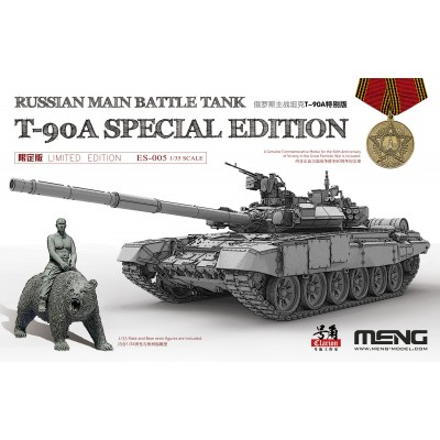 CARRO DE COMBATE T-90 A (V. Putin) 1/35 - Meng Model ES-005