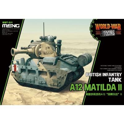 CARRO DE COMBATE (A-12) MATILDA MK-II -TOONS- Meng Model WWT-014