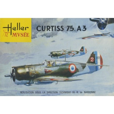 CURTISS HAWK H-75 A3 1/72 - Heller 80214