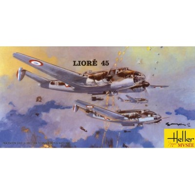 LIORE & OLIVIER 45 1/72 - Heller 80398
