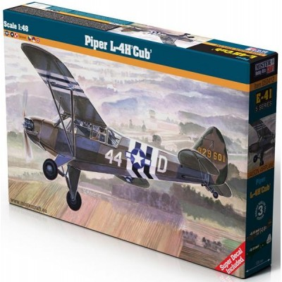 PIPER L-4 H CUB 1/48 - Mister Craft Hobby 050412
