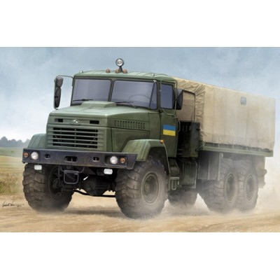 "CAMION KrAZ-6322 ""Soldier"" 1/35 - Hobby Boss 85512"