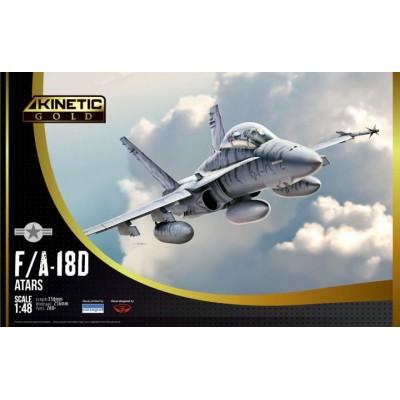 McDONNELL DOUGLAS F/A-18 D HORNTE 1/48 - Kinetic K48033