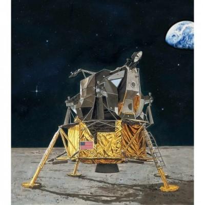 Apollo 11: MODULO LUNAR EAGLE 1/48 - REVELL 03701