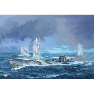 "SUBMARINO ""U-Boot"" Type IX C (Early Turret) 1/72 - Revell 05166"