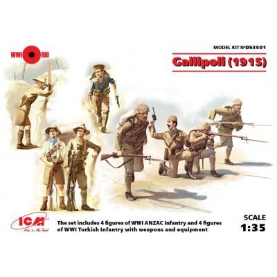 GALLIPOLI (1915) 1/35 - ICM DS3501