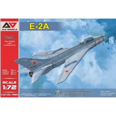 MIKOYAN GUREVICH YE-2A 1/72 - A&A Models 7220