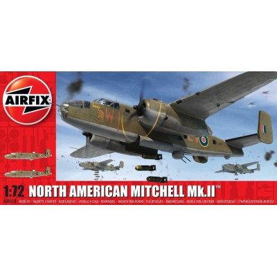 NORTH AMERICAN MITCHELL MK-II 1/72 - Airfix A06018