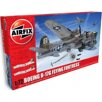 BOEING B-17 G FLYING FORTRESS 1/72 - Airfix A08017A