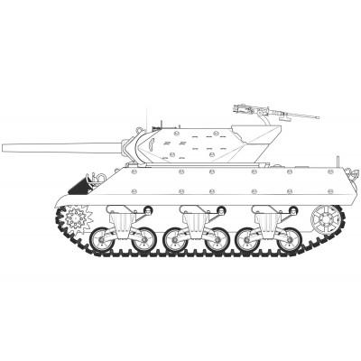 DESTRUCTOR DE CARROS M-10 1/35 - Airfix A1360