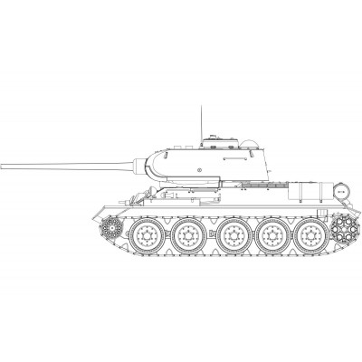 "CARRO DE COMBATE T-34/85 ""112 Factory"" 1/35 - Airfix A1361"