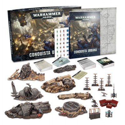 WARHAMMER 40000 URBAN CONQUEST ESPAÑOL - GAMES WORKSHOP 40-08-03