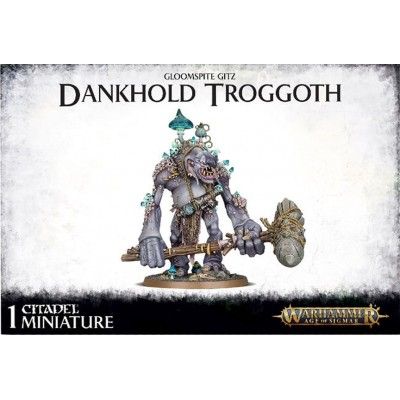GLOOMSPITE GITZ DANKHOLD TROGGOTH - GAMES WORKSHOP 89-50