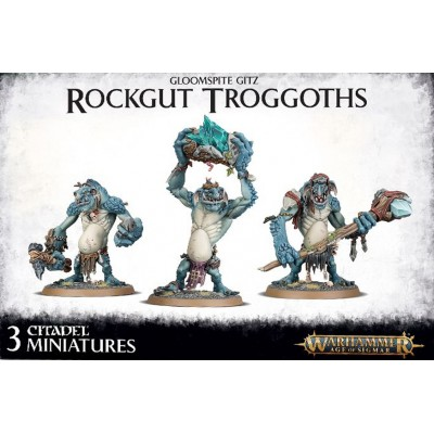 GLOOMSPITE GITZ ROCKGUT TROGGOTHS - GAMES WORKSHOP 89-33