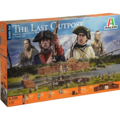 THE LAST OUTPOST - FRENCH AND INDIAN WAR - ESCALA 1/72
