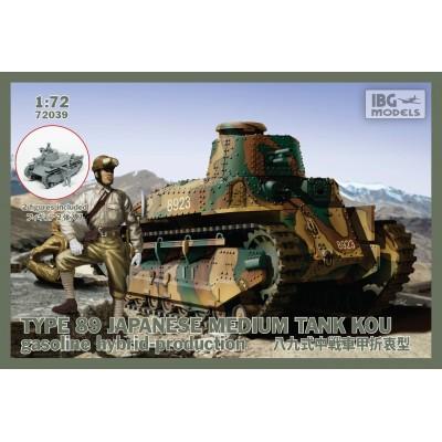 CARRO DE COMBATE Type 89 -1/72- IBG72039