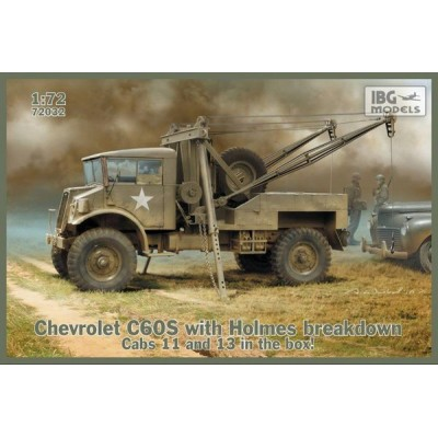 CHEVROLET C60S GRUA -1/72- IBG 72032