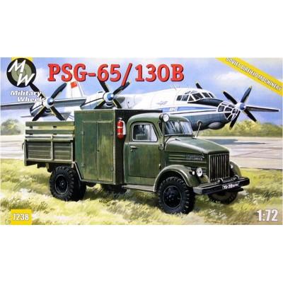CAMION SERVICIO AEROPUERTO PSG-65/130B -1/72- Military Wheels 7238