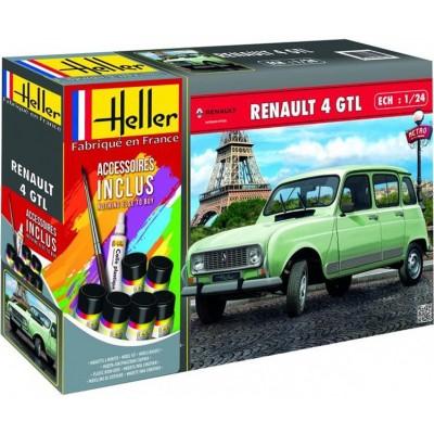 RENAULT 4 GTL -1/24- Heller 56759
