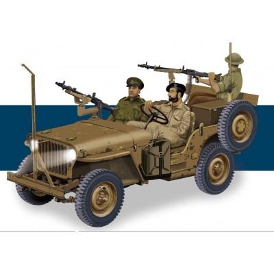 JEEP WILLYS IDF & MG34 -1/35- Dragon 3609