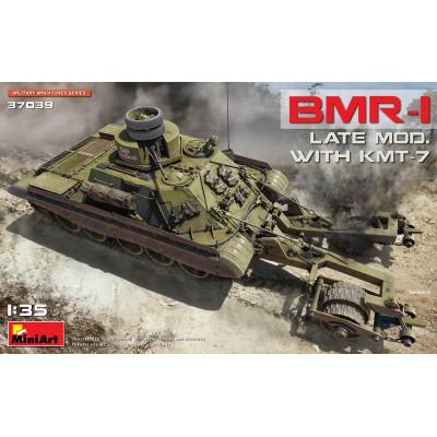 VEHICULO ZAPADORES BMR-1 (Late) & Desminador KMT-7 -1/35- MiniArt 37039