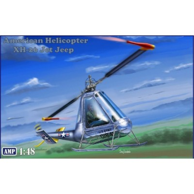 AMERICAN HELICOPTER XH-26 JET JEEP -1/48- AMP 48007