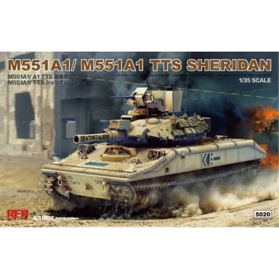 CARRO DE COMBATE M-551A1 / M551A1 TTS Sheridan -1/35- Rye Field Model RM-5020
