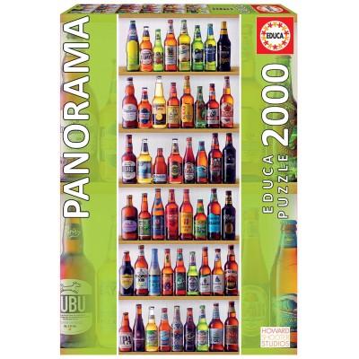 PUZZLE 2000 PZS CERVEZAS DEL MUNDO - EDUCA 18010
