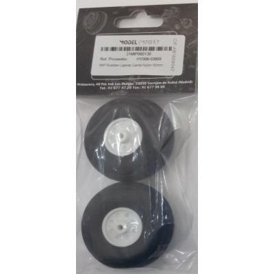 RUEDAS GOMA (57 mm) 2 unidades - HY006-03606