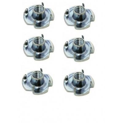 TUERCA ACERO AUTOEMPOTRABLE (M4) 6 unidades - HY016-00403A