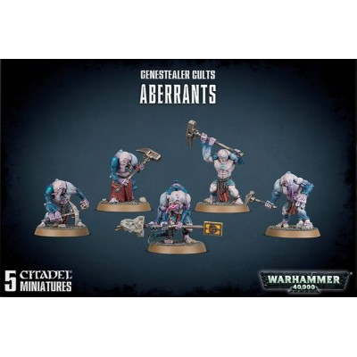 GENESTEALER CULTS ABERRANTS - GAMES WORKSHOP 51-60