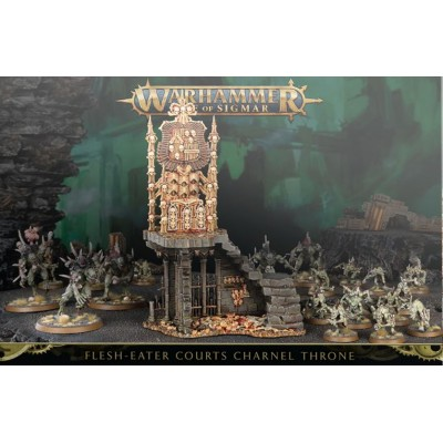 FLESH EATER COURTS CHARNEL THRONE - GAMES WORKSHOP 91-38