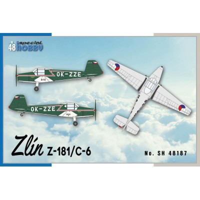 ZLIN Z-181 / C-6 1/48 - Special Hobby SH48187