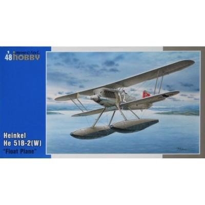 HEINKEL He.51 B-2 (Flotadores) - 1/48 - Special Hobby SH48089