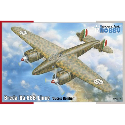 BREDA Ba. 88 B LINCE - 1/72 - Special Hobby 72397