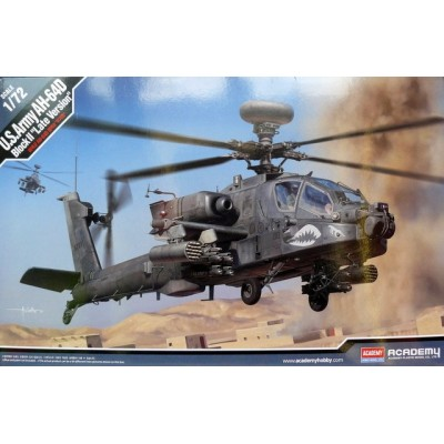BOEING AH-64D BLOCK II US army late version - ESCALA 1/72 - ACADEMY 12551