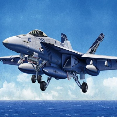 McDONNELL DOUGLAS F/A-18 E Hornet (Vf-143 Pukin Dogs) - 1/72 - Academy 12547