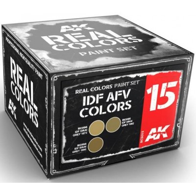 IDF AFV COLORS - AK Interactive RCS015