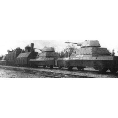 TREN BLINDADO Type BP-43 -1/72- UM models 678