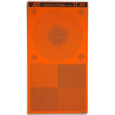 PLANCHA EASYCUTTING BOARD TYPE 2 (116x215x3mm) - AK 8057