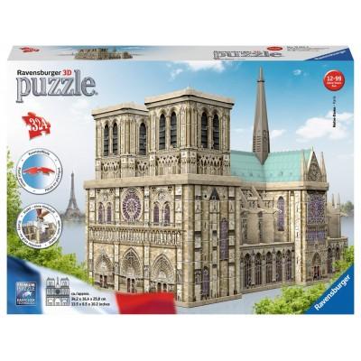 PUZZLE 3D 324 pzas. NOTRE-DAME, Paris - RAVENSBURGER 12523
