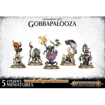 GLOOMSPITE GITZ GOBBAPALOOZA - GAMES WORKSHOP 89-51