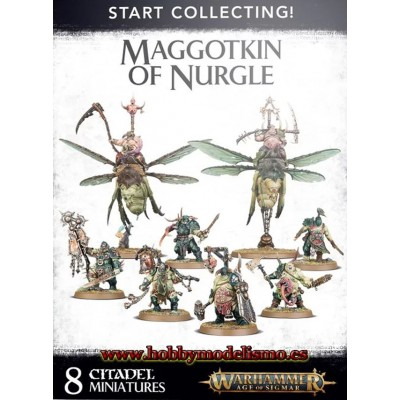 START COLLECTING MAGGOTKIN OF NURGLE - GAMES WORKSHOP 83-54