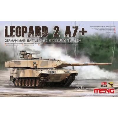 CARRO DE COMBATE LEOPARD II A7+ -1/35- Meng Model TS-042