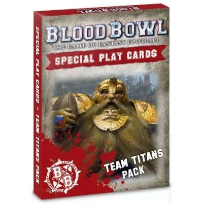 BLOOD BOWL: Tarjetas COLECCION TITANES