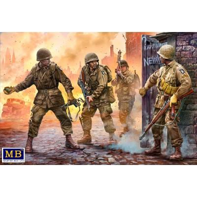 PARACAIDISTA U.S. ARMY NORMANDIA -1/35- Master Box 3574