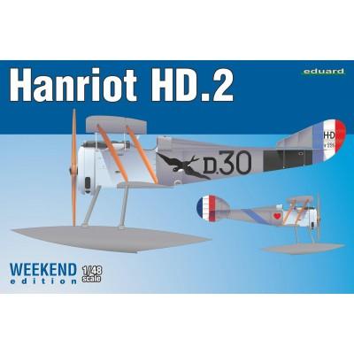 HANRIOT HD.2 -1/48- Eduard 8413