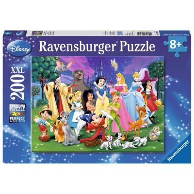 PUZZLE 200 PZS XL FAVORITOS DISNEY - RAVENSBURGER 12698