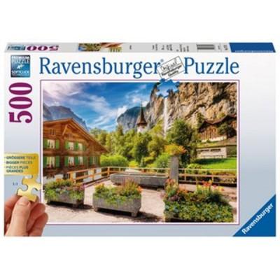 PUZZLE 500 PZS XL LAUTERBRUNNEN - RAVENSBURGER 13712